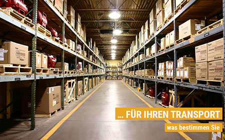 5118812 - parts warehouse aisle of of manufacturing company